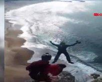 Paraşütü açılmayan turist felaketi yaşadı!