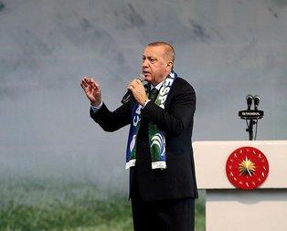 Başkan Erdoğan'dan zehir tacirlerine net mesaj