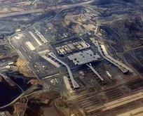 3. havalimanı havadan görüntülendi