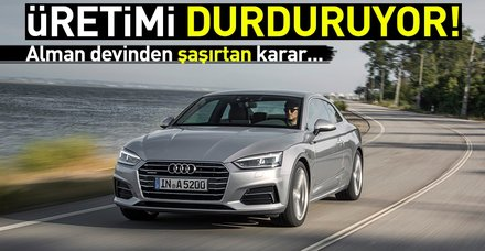 Audi'den ABD'de düz vitese son verme kararı!