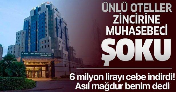 Muhasebe şefi 6 milyon dolandırmış!