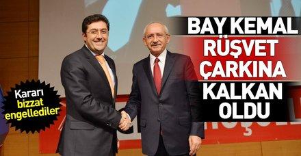 Kılıçdaroğlu, Beşiktaş Belediyesi'nin rüşvet çarkına kalkan oldu