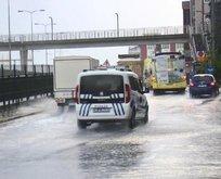 İstanbul'a cumartesi günü için sağanak uyarısı