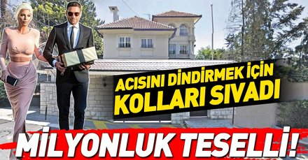 Futbolcu Dusko Tosic, annesini kaybeden eşi Jelena Karleusa'nın acısını dindirmek için Sırbistan'daki villasını yeniletti