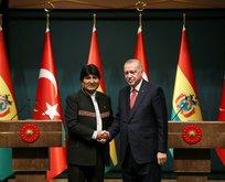 Türkiye-Bolivya ortak bildirisi
