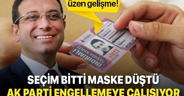 CHP'li İBB yönetimi öğrencilerin indirimli kartlarını iptal etmek için hamle yaptı! AK Parti karşısına dikildi - Takvim