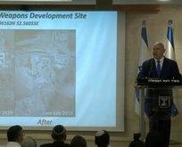 Netanyahu'dan haritalı iddia! Gizli bölgeleri ifşa ettik