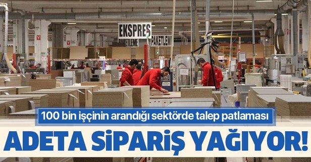 100 bin işçi arayan sektör taleplere yetişemiyor