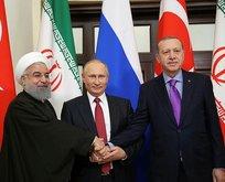 Soçide Erdoğan, Ruhani, Putin zirvesi