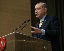 Cumhurbaşkanı Erdoğandan sert Afrin mesajı