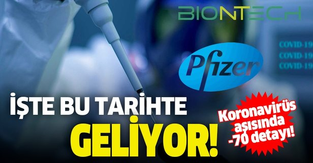 Pfizer-BioNTech aşısı hakkında son dakika gelişmesi!