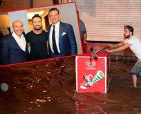 İzmir'i sel götürdü,Tunç Soyer Tarkan konserinde eğlendi