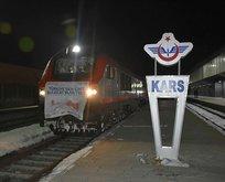 Bor ihracatında ilk tren Kars'a ulaştı!