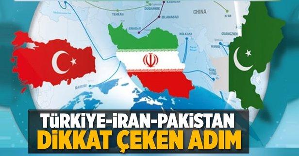 Türkiye, İran ve Pakistandan dikkat çeken adım