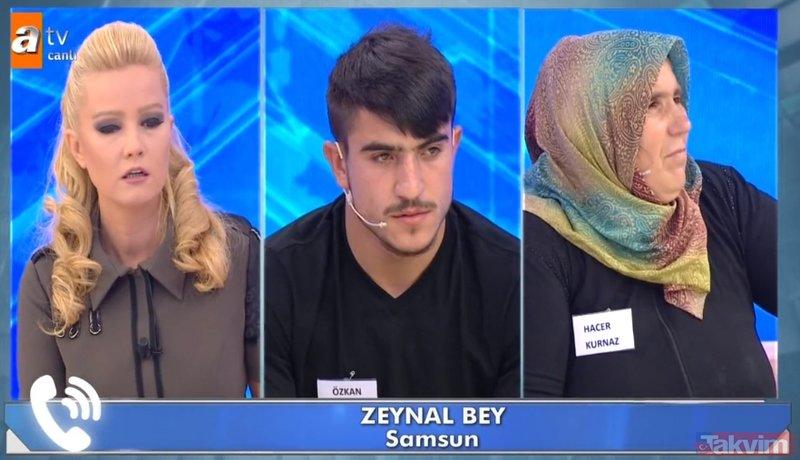 Müge Anlı canlı yayınında dehşet veren telefon görüşmesi! Ecrin Kurnaz üvey amcası Özkan Kurnaz tarafından cinsel...