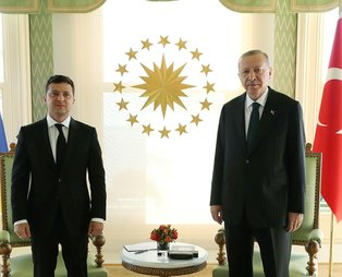 Son dakika! Başkan Erdoğan Ukrayna Devlet Başkanı Zelenskiy ile görüştü