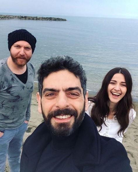 Sen Anlat Karadeniz oyuncularının set halleri