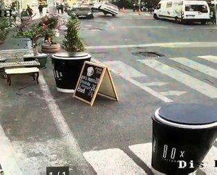 İstanbul'da akıl almaz kaza!