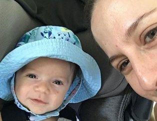 Canan Ergüder ve Kenan Ece oğulları Demirin fotoğrafını paylaştı! İşte ünlülerin merak edilen çocukları