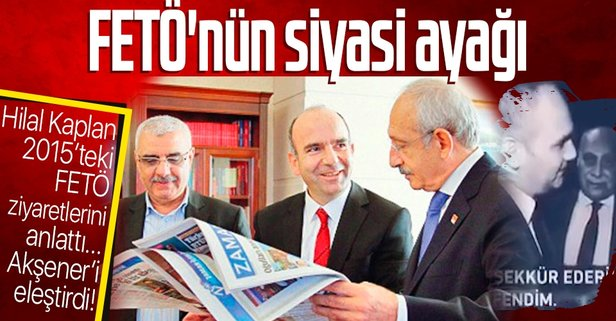 FETÖ'nün siyasi ayağı CHP mi?