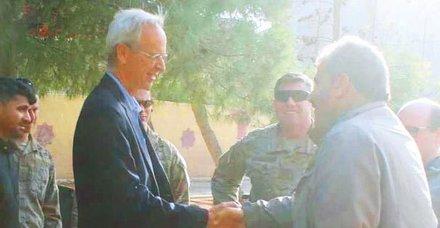 ABDnin özel temsilcisi PKKlı teröristleri ziyaret etti