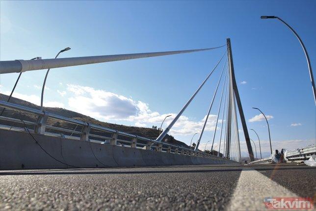 İki şehri birbirine bağlayacak! Dev proje yarın açılıyor | Kömürhan Köprüsü'nde büyük gün