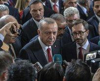 Erdoğan'dan ABD ziyaretine ilişkin son dakika açıklaması