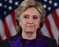 Clinton kendini doğaya verdi