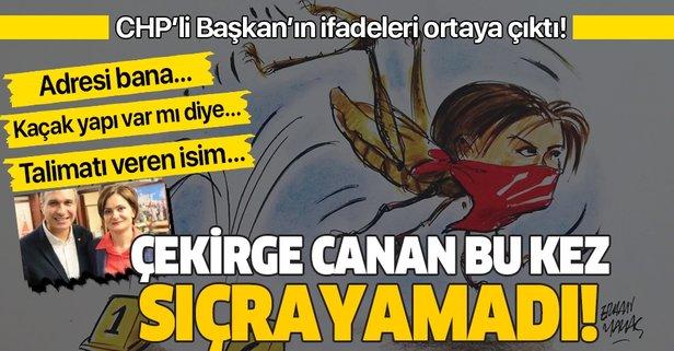 CHP'li Başkan Suat Özçağdaş'ın ifadesi ortaya çıktı