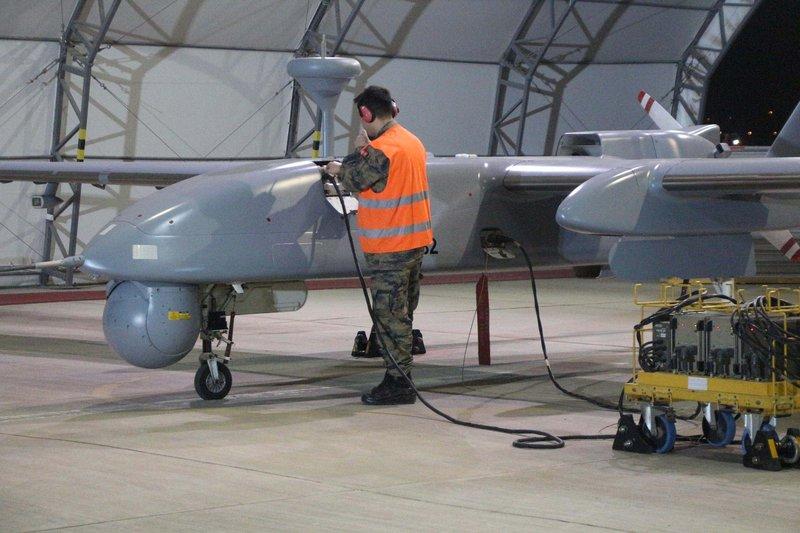Batman'daki İnsansız Hava Uçakları Sistemleri Üssü görüntülendi