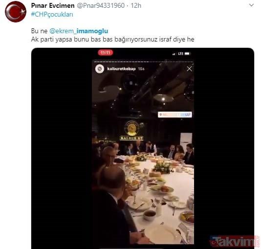 Ekonomi kötü gidiyor algısıyla prim yapma peşindeki CHP'lilerden lüks restoranda şatafatlı eğlence