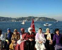 Emine Erdoğan, D-8 zirvesine gelen liderlerin eşlerini konuk etti