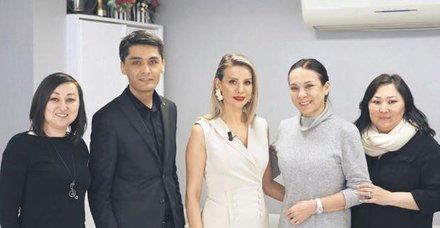 Kazakistan'dan atv ziyareti! Esra Erol'da programının formatına talip çıktı...