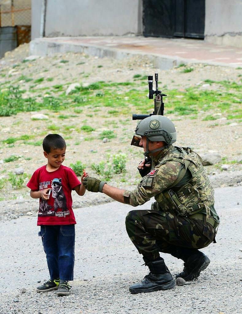 Şırnak'ta vatandaşlardan operasyonlara destek