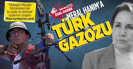 Meral Akşener'e Türk gazozu
