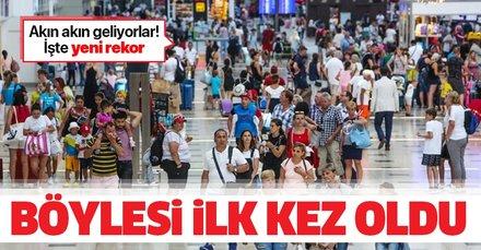 Antalya'da tarihi rekor! İlk kez 5 milyonu geçti