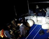 Yunanistan'ın Türk kara sularına ittiği göçmenler...