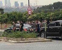 Başkan Erdoğan onları görünce aracını durdurdu