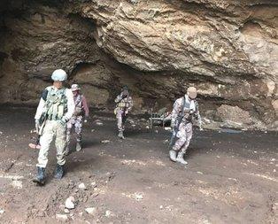 Sıcak çatışma! Teröristler mağarada kıstırıldı