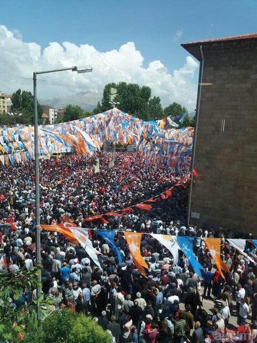 Cumhurbaşkanı Erdoğan Ispartada coşkuyla karşılandı