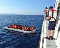 İzmir'de 22'si çocuk 40 göçmen yakalandı