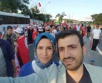 Selçuk ve Sümeyye Bayraktar'dan 15 Temmuz fotoğrafı