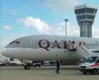 İngiltere-Katar uçağı Şanlıurfa'ya acil iniş yaptı