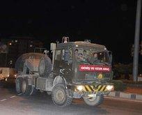 TSK'dan Suriye'ye askeri sevkiyat