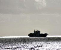 7 bin 400 ton mühimmatı denize bıraktılar