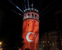 Galata Kulesi görsel şölenle açıldı!