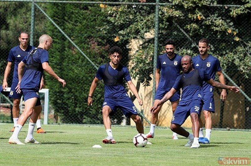 Fenerbahçede Cocu yeni 11ini belirledi