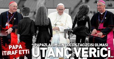Papa'dan çocuk istismarı itirafı