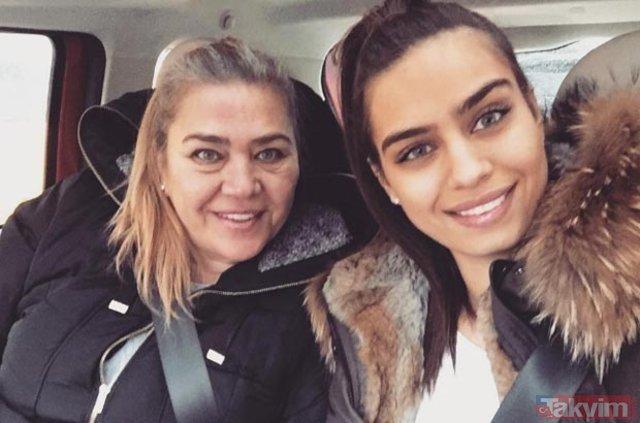 Tuvana Türkay'ın annesiyle fotoğrafı olay oldu! İşte herkesi hayrete düşüren Tuvana Türkay'ın annesi...