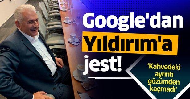 Google'dan Yıldırım'a jest